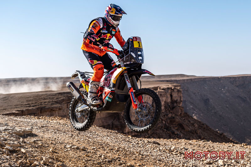 Toby Price KTM Dakar Rally 2020