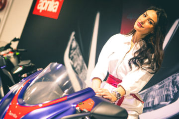 Aprilia Motor Bike Expo