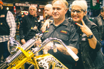 Boccin Custom Cycles Motor Bike Expo 2020