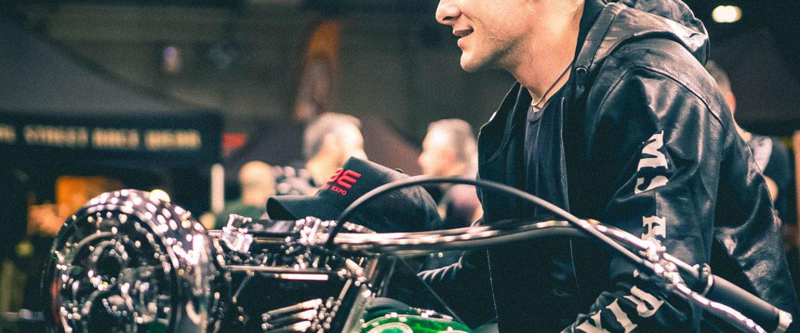 Aldo Montano MS Artix Motor Bike Expo 2020