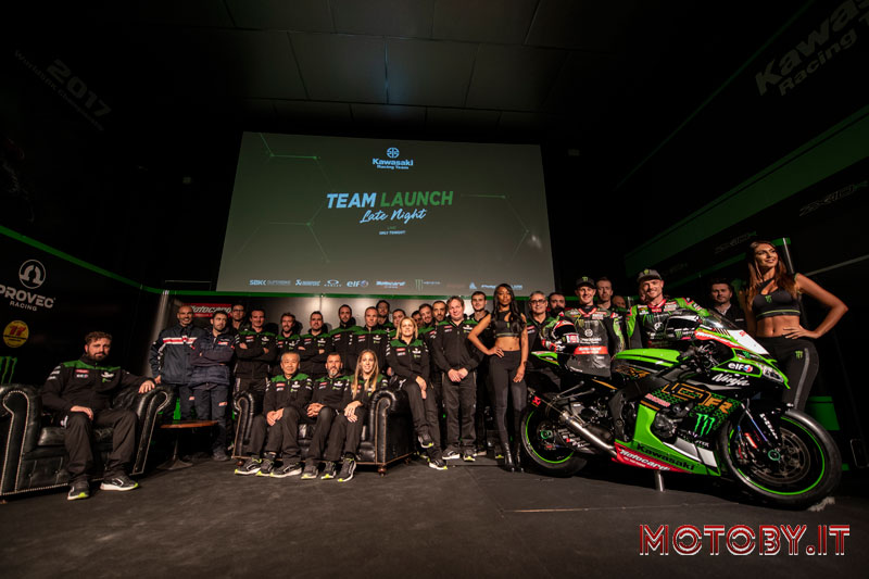 Kawasaki Racing Team WorldSBK 2020 Team