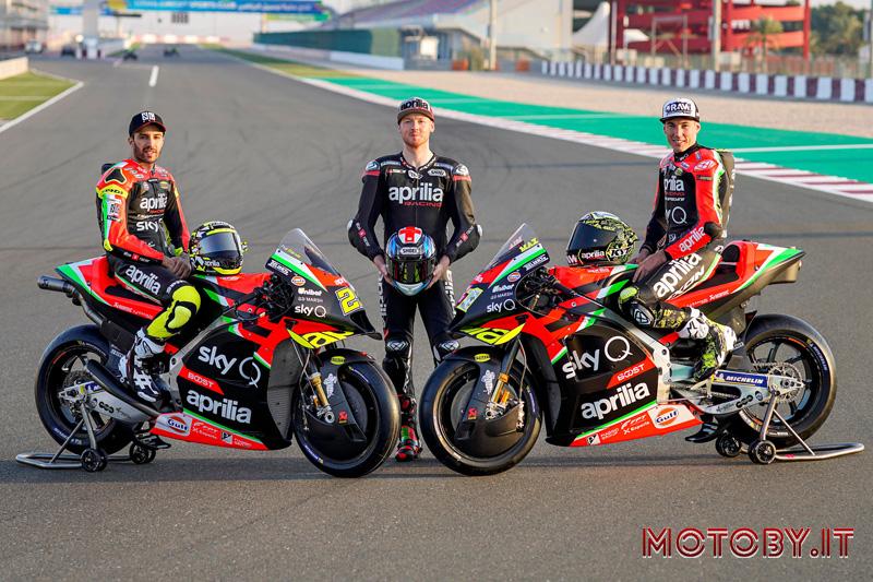 Aprilia Racing RS-GP Piloti