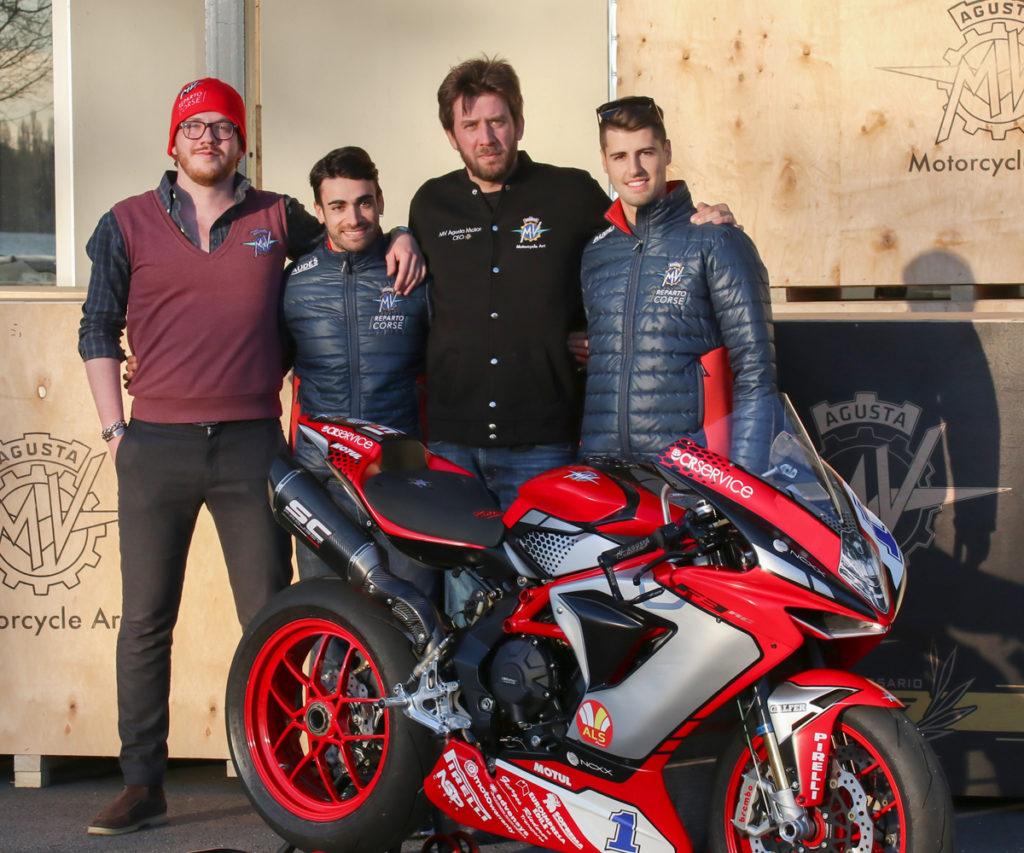 Timur Sardarov, Ratmir Sardarov, Federico Fuligni e Raffaele De Rosa