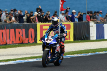 Yamaha vince la prima stagionale in SuperBike