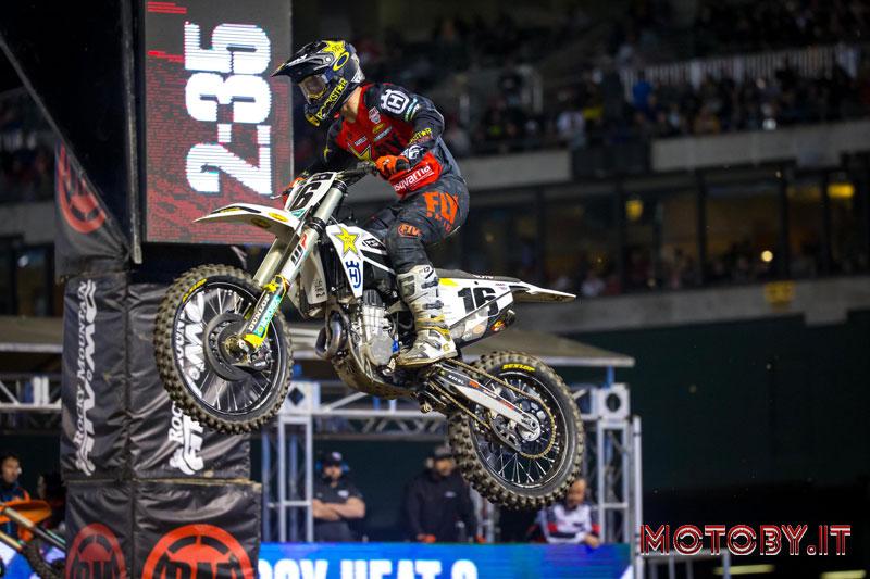 Zach Osbourne Husqvarna AMA Supercross