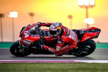 Andrea Dovizioso Ducati Test Qatar