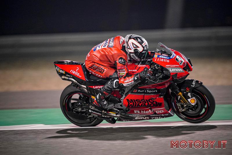 Danilo Petrucci Ducati Test Qatar