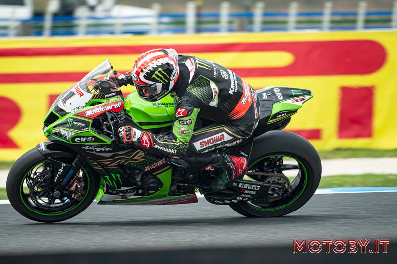 Jonathan Rea Kawasaki Racing Team SBK