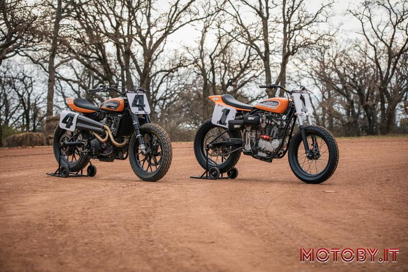 Harley-Davidson Factory Flat Track Racing