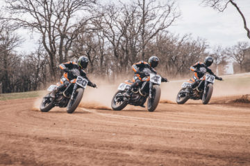 Harley-Davidson™ Factory Flat Track Racing Team verso la stagione AFT Supertwins 2020