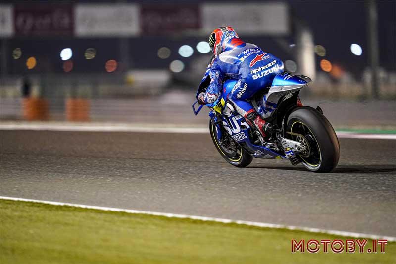 Alex Rins Team Suzuki MotoGP