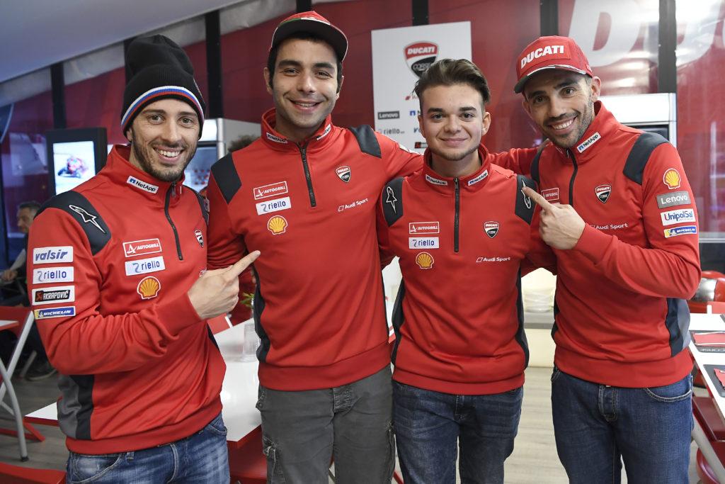 Andrea Saveri aka AndrewZh Ducati Corse eSport