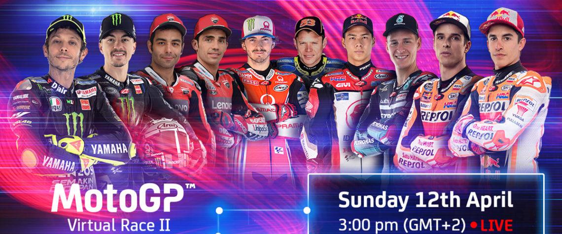 Virtual Race Moto GP 12 Aprile 2020