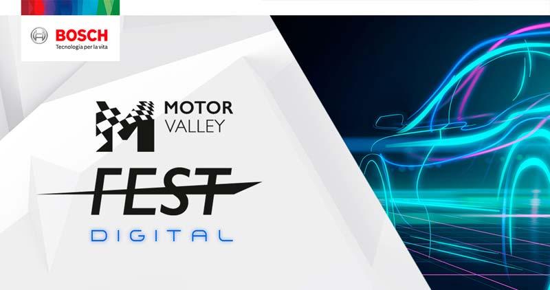 Motor Valley Fest Digital Bosch