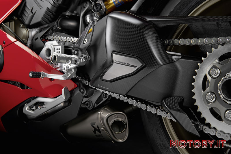 Ducati Panigale V4 cover forcellone