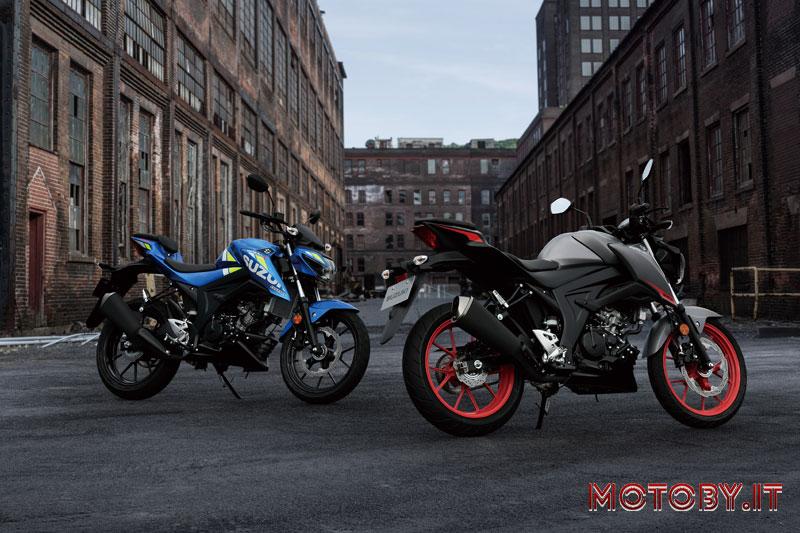 Suzuki GSX-R 125 Suzuki GSX-S 125