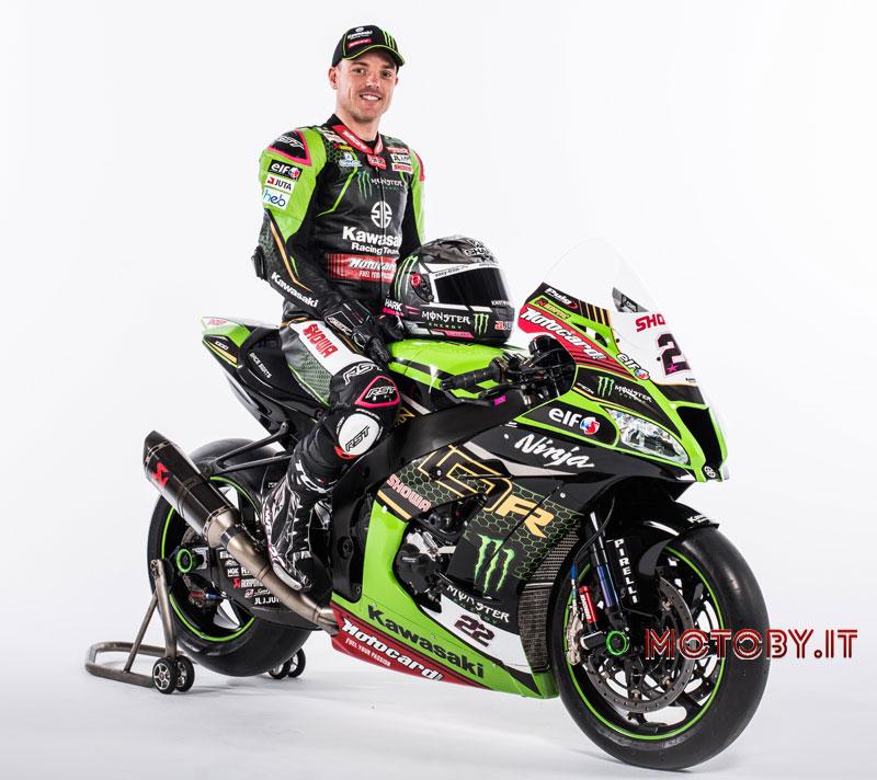 Alex Lowes firma Kawasaki Racing Team