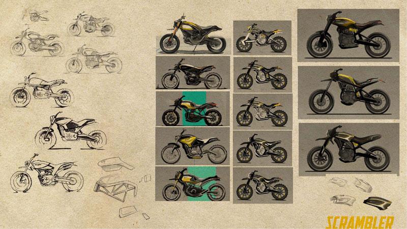 Peter Harkins Ducati Scrambler® del futuro