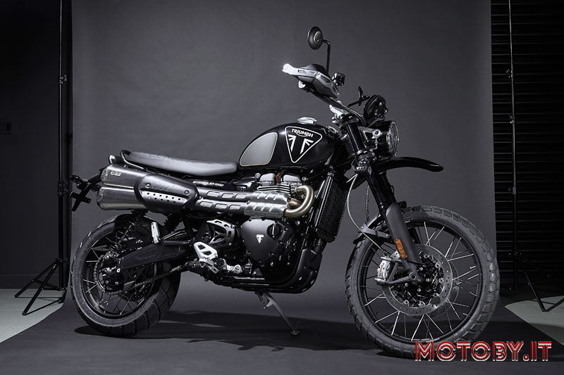 Triumph Scrambler 1200 Bond Edition