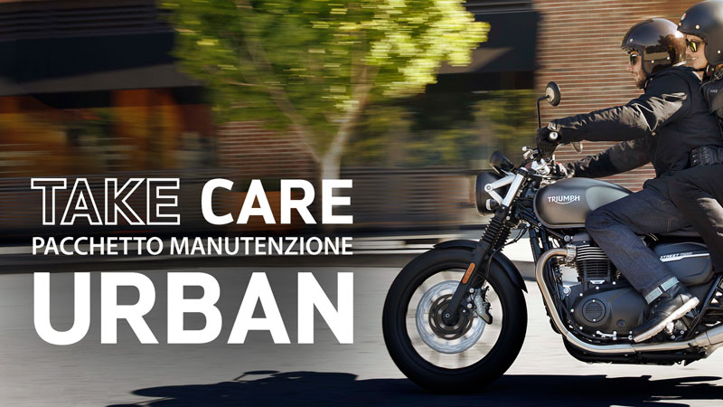 Triumph Motorcycles Take Care