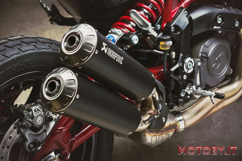 Scarico Akrapovic Indian Motorcycles FTR Carbon