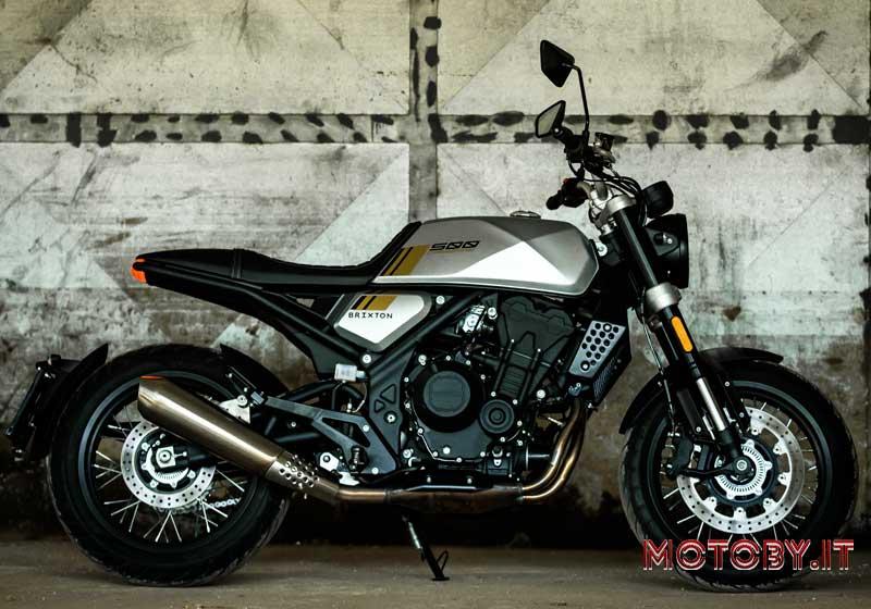 Brixton Motorcycles  Crossfire 500