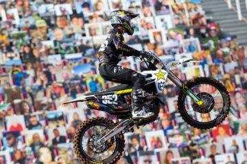AMA Supercross: la stagione 2020 si conclude con un podio tutto Rockstar Energy Husqvarna Factory Racing