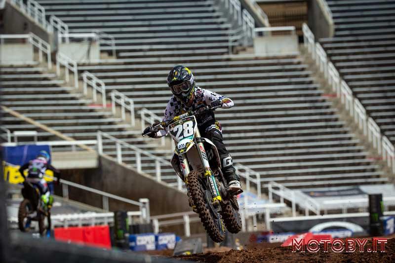 Michael Mosiman AMA Supercross Husqvarna