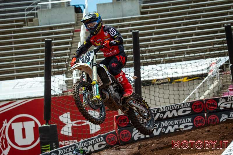 Zach Osbourne AMA Supercross Husqvarna