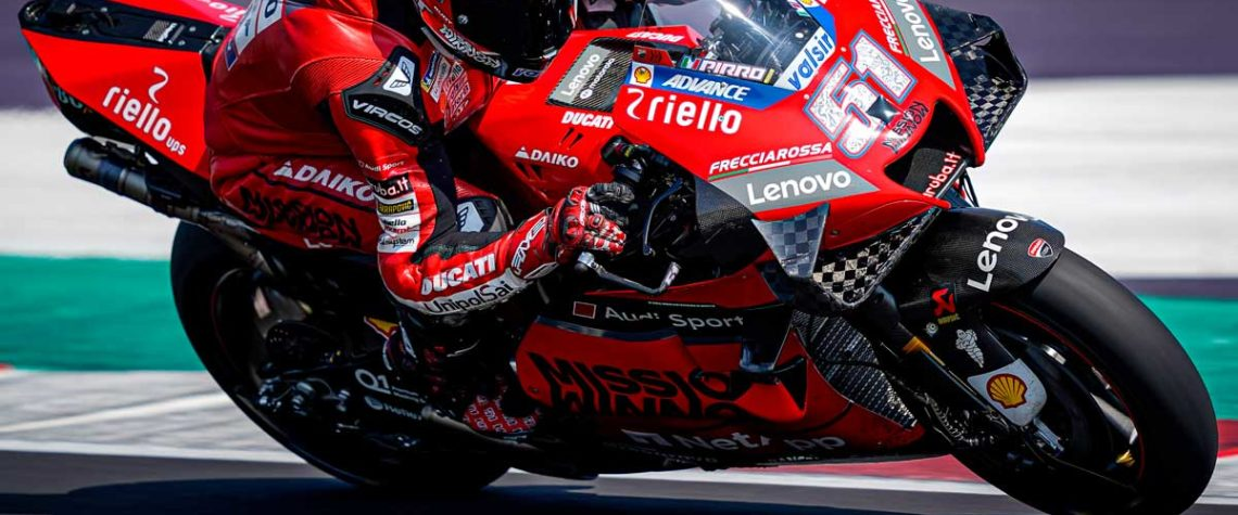Il Ducati Test Team e Michele Pirro di nuovo in pista