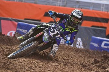 Monster Energy Yamaha Justin Barcia Salt Lake City