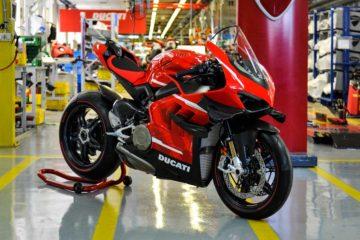 Avviata la produzione della Ducati Superleggera V4