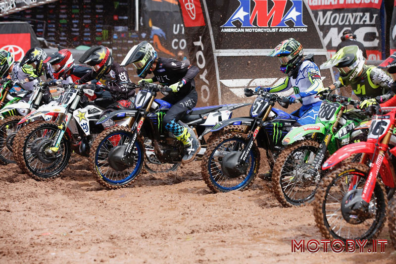 AMA SX Barcia Yamaha Monster energy