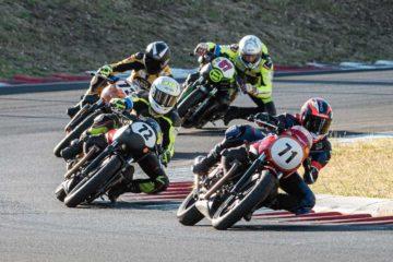 Primo fine settimana a Vallelunga per il Moto Guzzi Fast Endurance 2020