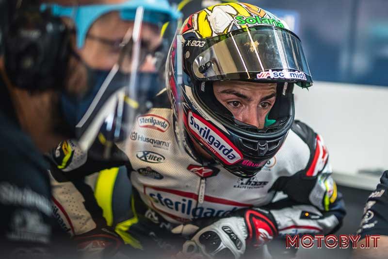 Alonso Lopez Husqvarna Motorcycles Moto3