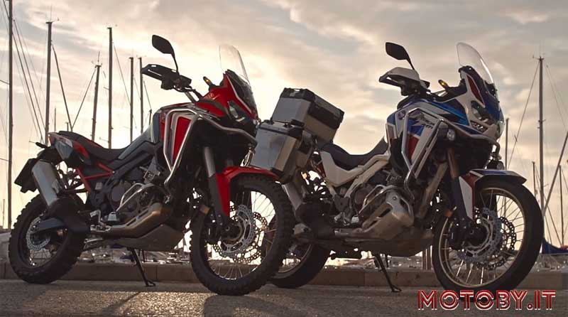Africa Twin video emozionale