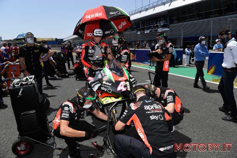 Aleix Espargarò Aprilia MotoGP