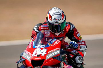 Test pre-gara MotoGP per il Ducati Team