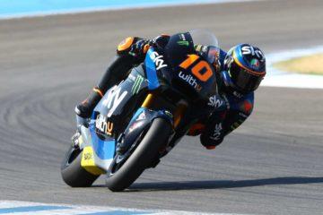 Luca Marini vince il primo GP Moto2 dopo il lockdown