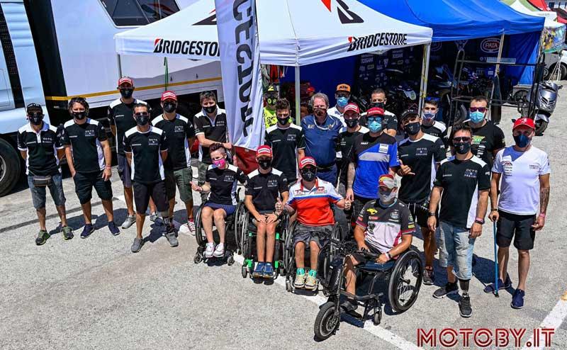 Motociclismo paralimpico: Rohr e Malagoli