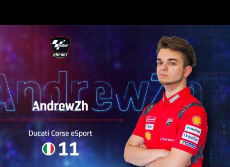 Andrea Saveri e il Ducati Corse eSport team pronti per il primo round 2020 di MotoGP eSport