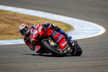 Ducati sul podio a Jerez, con ad Andrea Dovizioso che conclude terzo