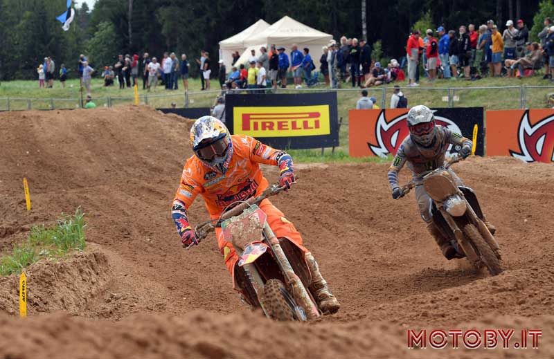 Jeffrey Herlings e Jeremy Seewer