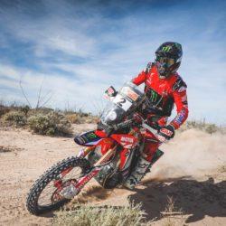 Ricky Brabec Honda CRF450 RALLY