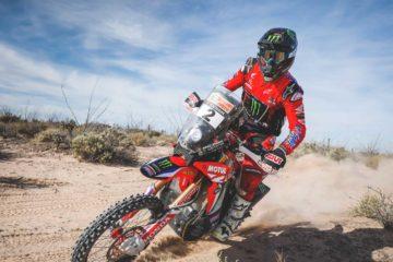Ricky Brabec in sella alla ricerca della terza vittoria di Vegas To Reno