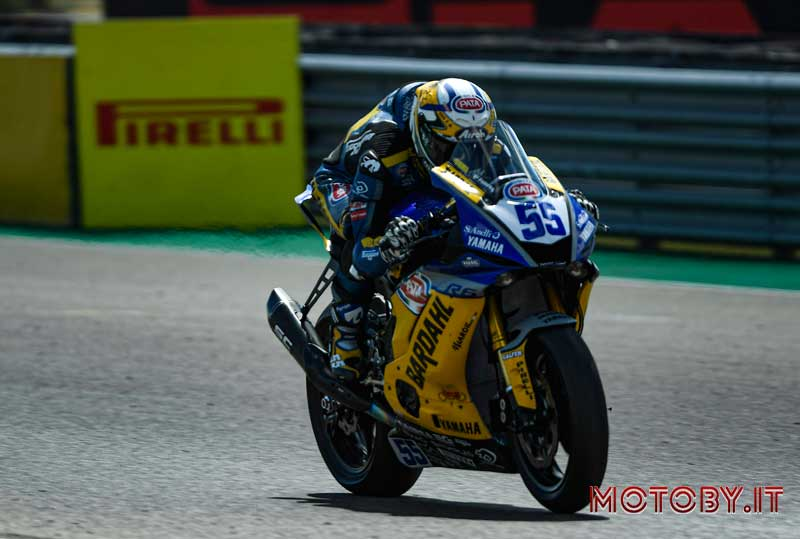 Andrea Locatelli Bardahl Racing World SuperBike Aragona