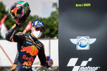 Prima vittoria KTM in MotoGP con Brad Binder