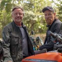 Long way up con Ewan McGregor e Charley Boorman