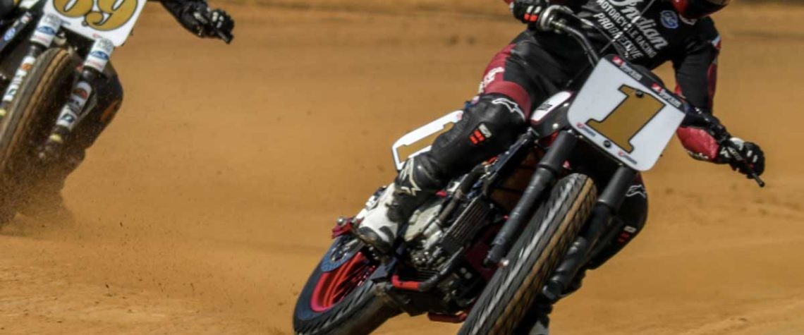 Indian Motorcycle Racing Briar Bauman