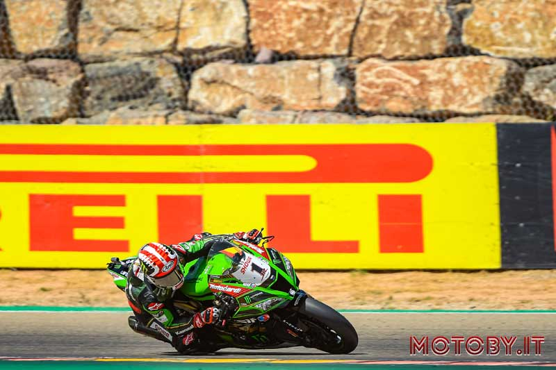 Jonathan Rea World SuperBike Aragona